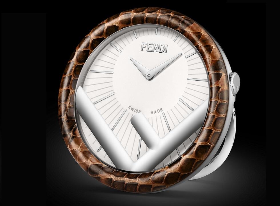 Fendi Run Away Table Clock