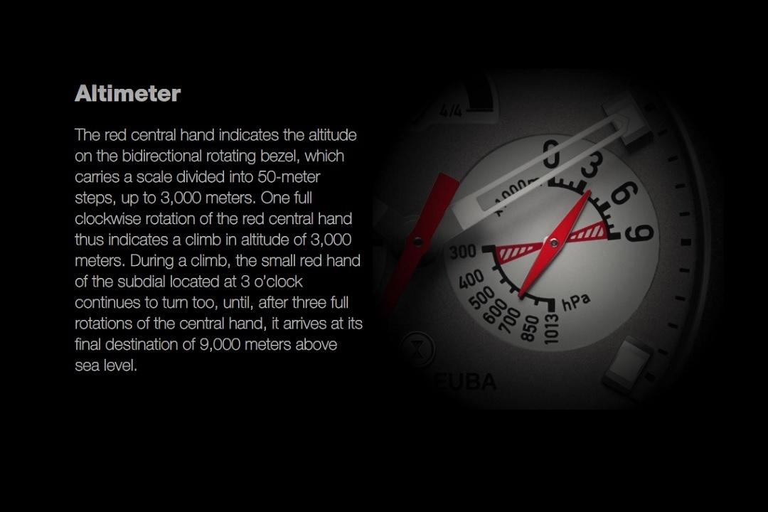 Favre-Leuba Bivouac 9000 Altimeter