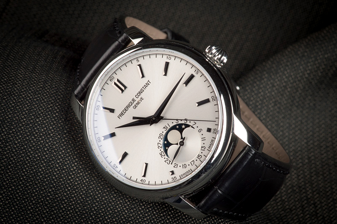 What sets the Frederique Constant Classic Moonphase apart.