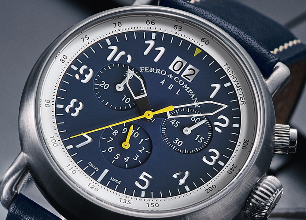 KICKSTARTER: Ferro & Co. AGL Series Limited Edition Swiss Made Pilots Watches