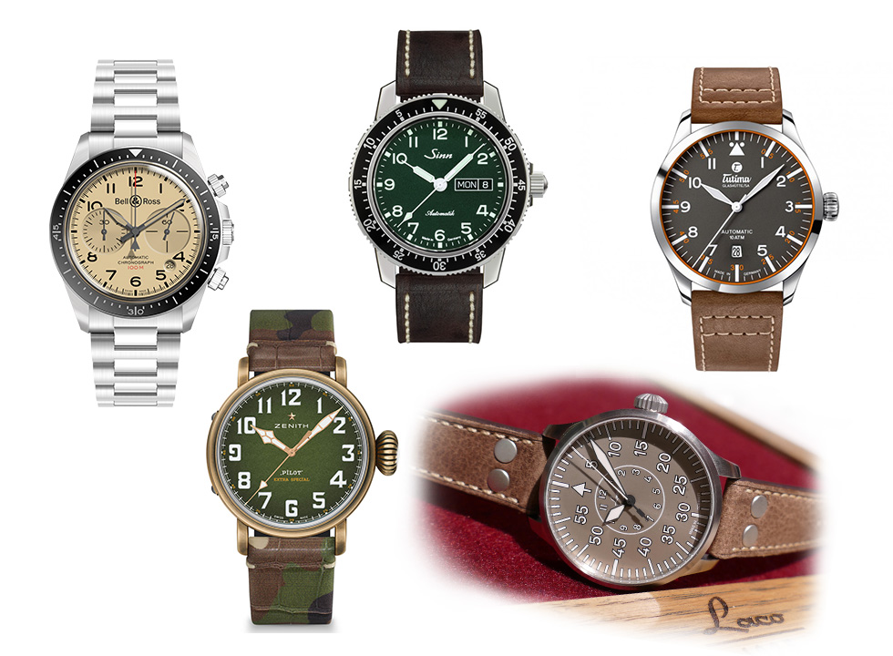 best pilots watches of Baselworld