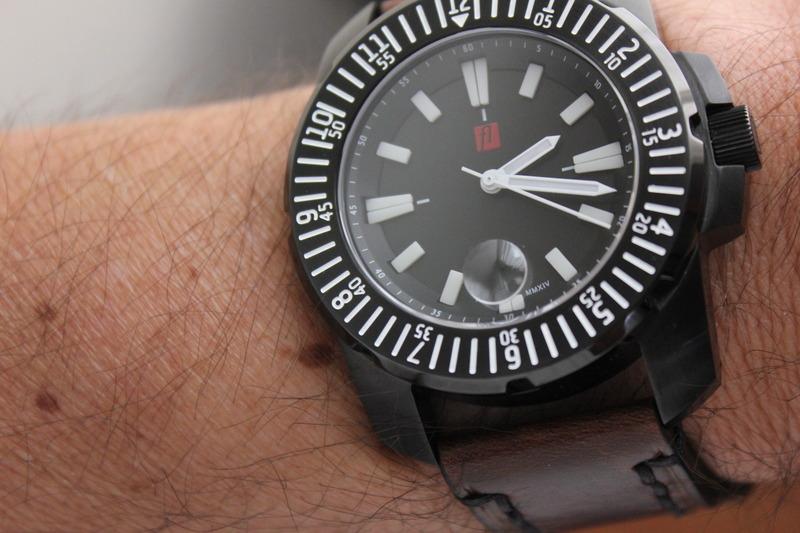 Name:  Florijn Diver on Panatime Dark Brown Vintage Tobacco Genuine Distressed Leather Watch Strap with.jpg Views: 44 Size:  119.5 KB