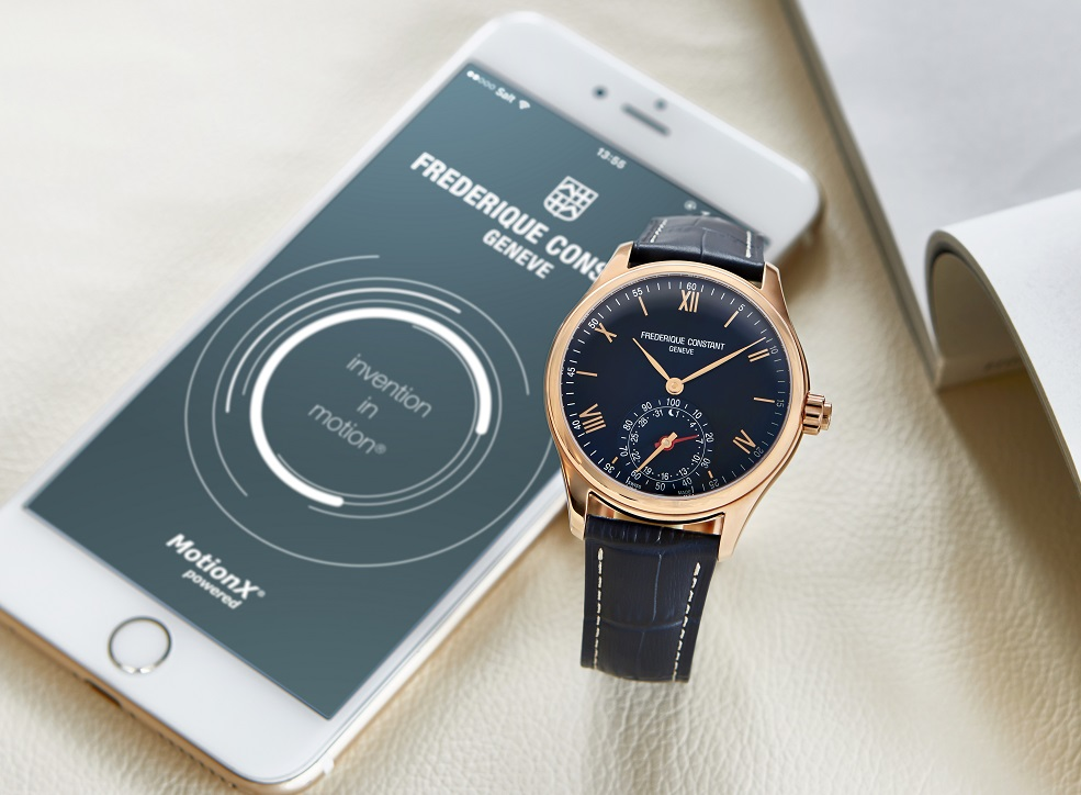 Pre-Basel: Frederique Constant Horological Smartwatch Powered By Motionx