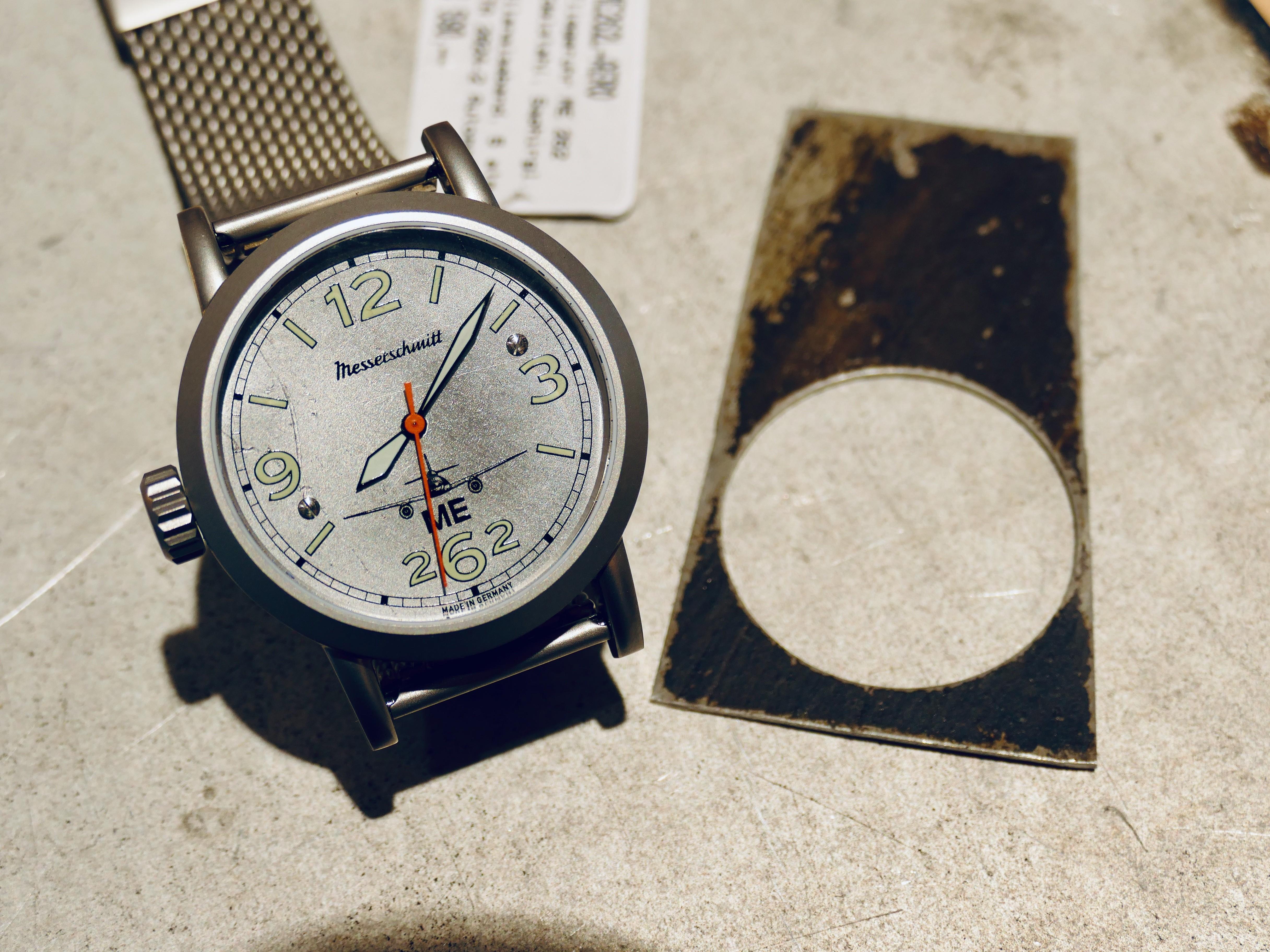 Aristo Mersserschmitt ME 262 Aero dial cutout