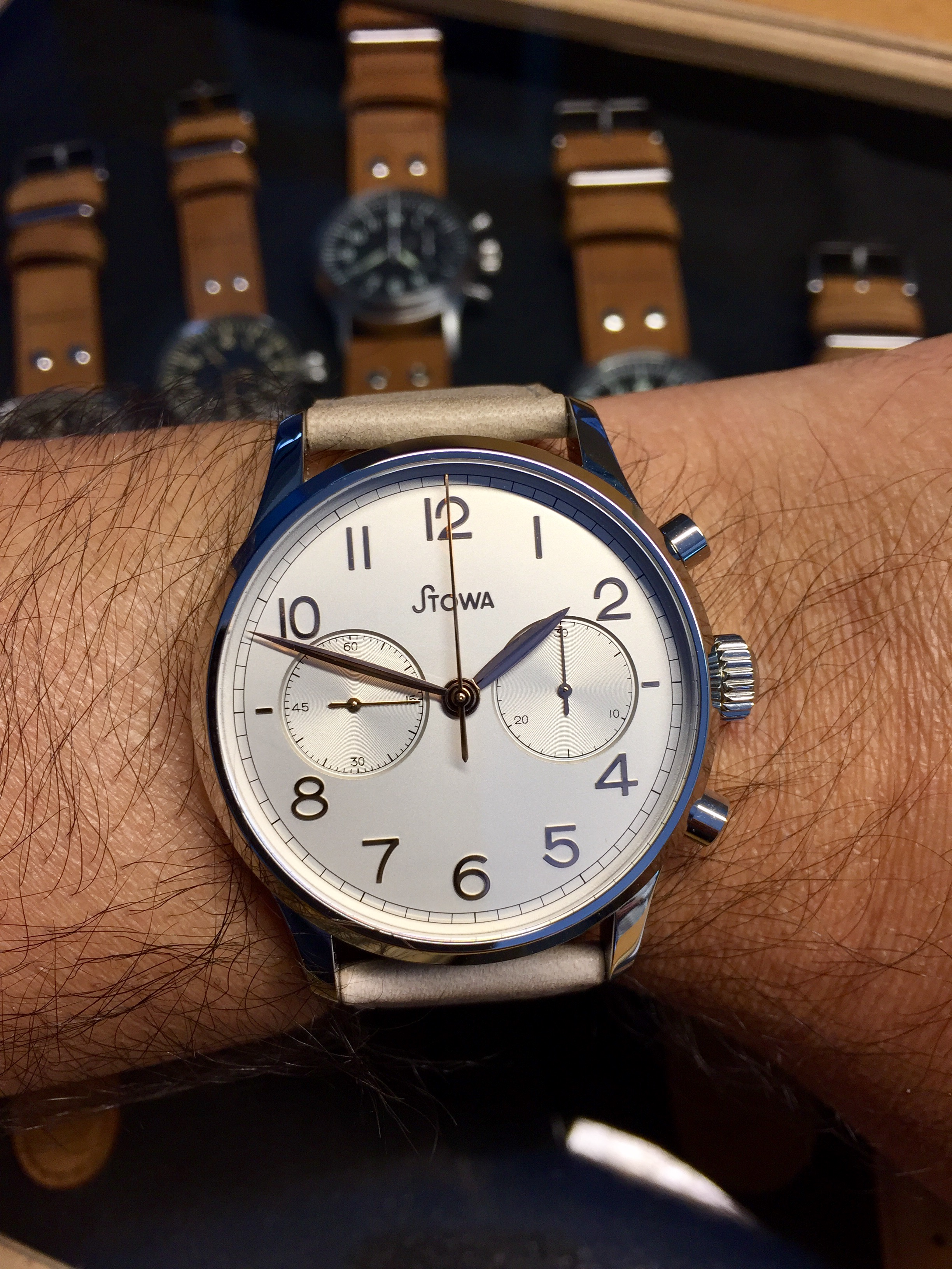 Like a true WIS, I placed an order for the 1938 chronograph - for the 2nd time