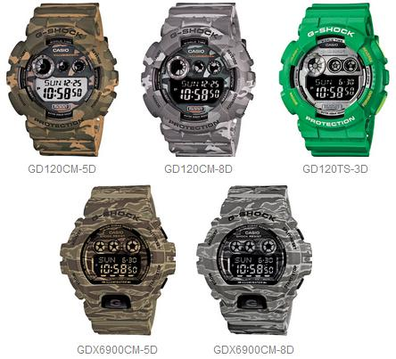 Click image for larger version.  Name:G-Shock 2014 want list.jpg Views:2555 Size:36.2 KB ID:1330738