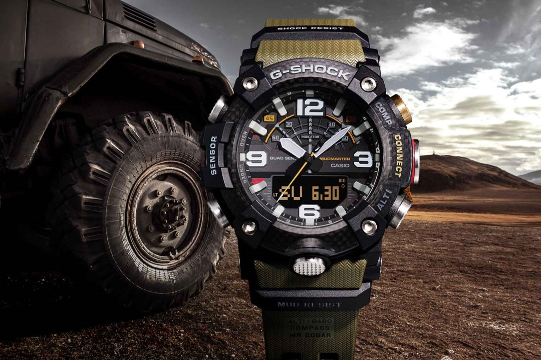 57ffd192addb Casio Unveils 6 New G-SHOCK Releases at Baselworld 2019 - watchuseek.com