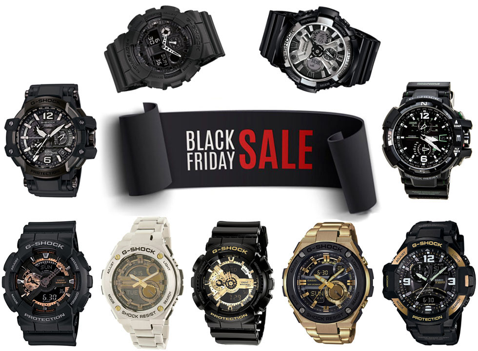 The Best Casio G-Shock Black Friday Deals on Amazon: Save Up to 56%