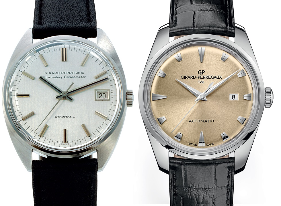 Girard perregaux 1957 gyromatic le watch for Girard perregaux