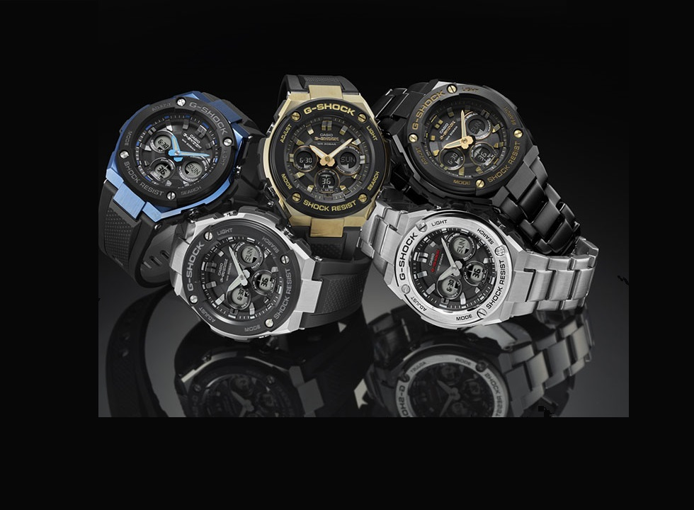Casio G-SHOCK Adds New Watches To G-Steel Line
