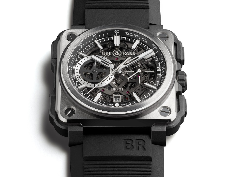 Bell & Ross BR-X1 Black Titanium Chronograph LE Watch