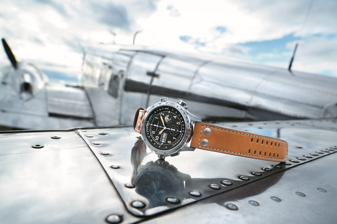A Century Of Timing The Skies: Hamilton Khaki X-Wind Auto Chrono Limited Edition