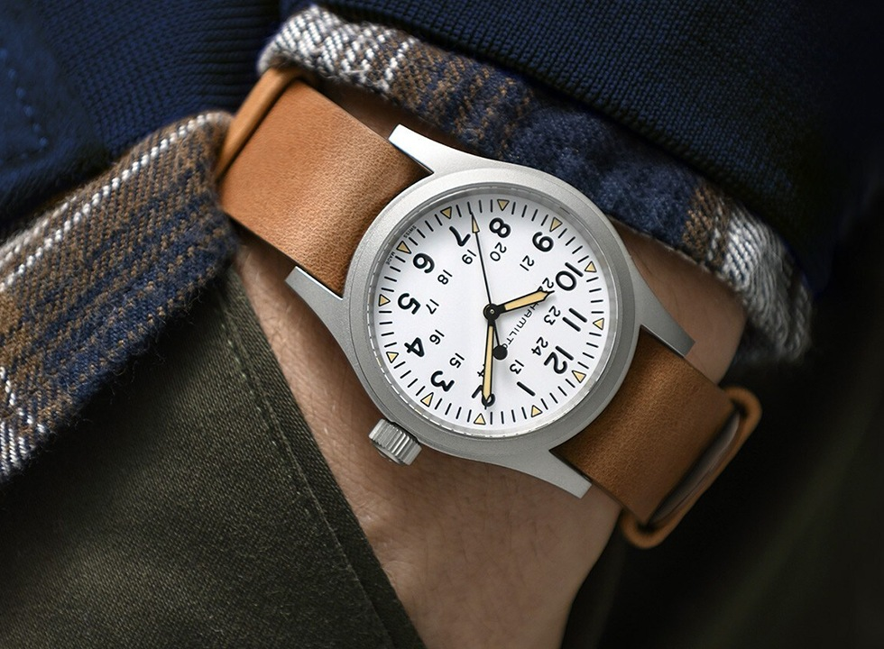 Hamilton Khaki Field Mechanical wrist