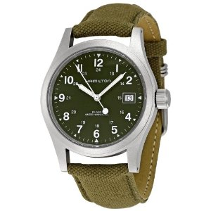 Name:  Hamilton+Men%u00252527s+HML-H69419363+Khaki+Field+Green+Dial+Watch.jpg