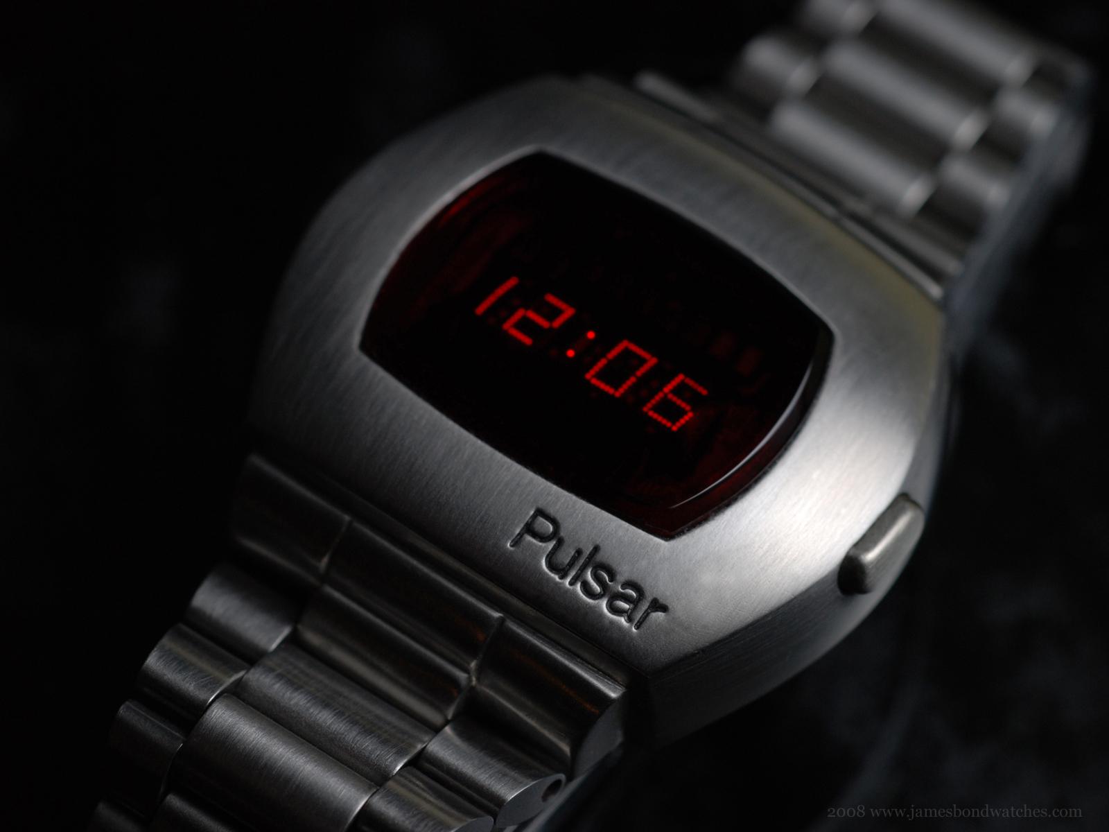 "Hamilton Pulsar P2 ""Astronaut"" LED wristwatch"