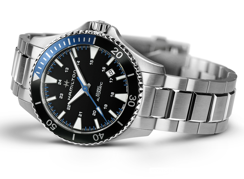 Make a Splash this Summer With The New Hamilton Khaki Navy Scuba For Father's Day