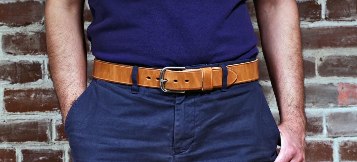 Name:  Handmade Leather Belt Natural Waist.jpg Views: 21 Size:  201.8 KB