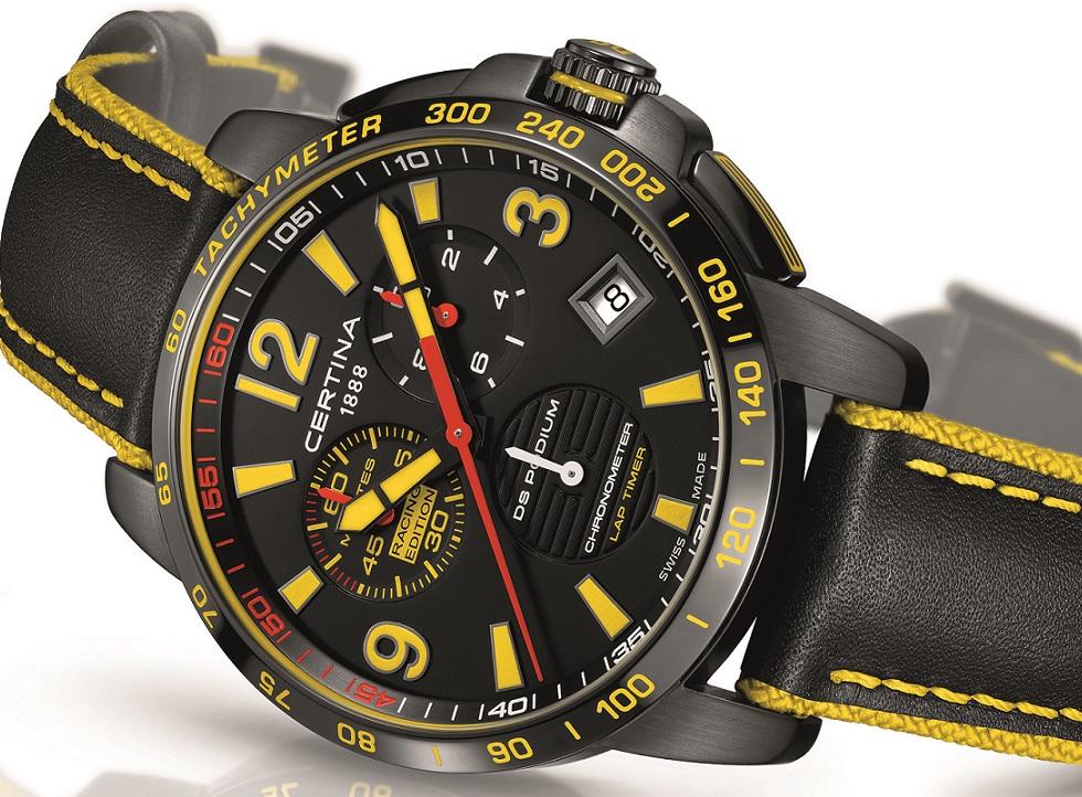 Laptimer 2000 >> Certina DS Podium Lap Timer Chronograph Racing Edition - watchuseek.com