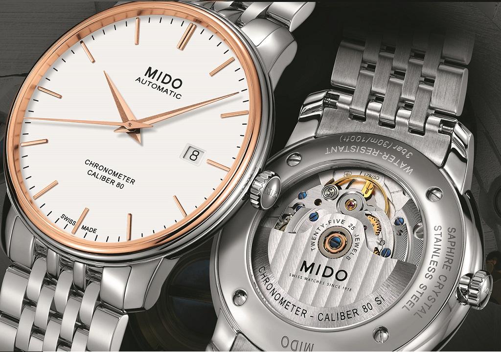 Mido Baroncelli Caliber 80 Chronometer Si