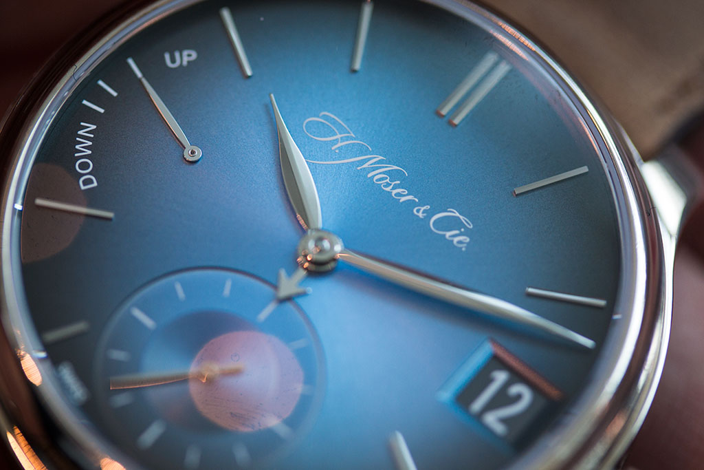 H Moser Endeavor Perpetual Funky Blue Baselworld 2016