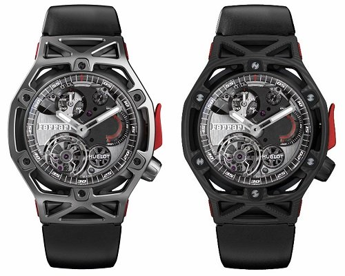 Name:  Hublot-Techframe-Ferrari-Tourbillon-Chronograph-Titanium-and-PEEK-Carbon.jpg