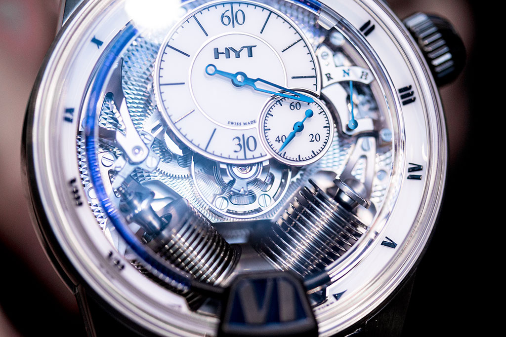 HYT H2 Tradition Baselworld 2016
