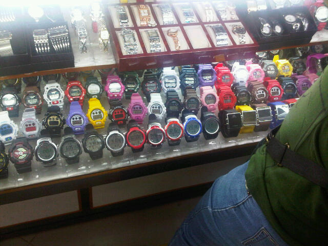 fake G Shock watches in San Francisco