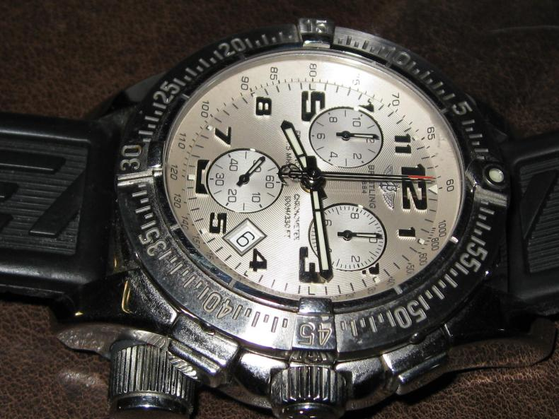 replica Breitling Emergency watch in Helena