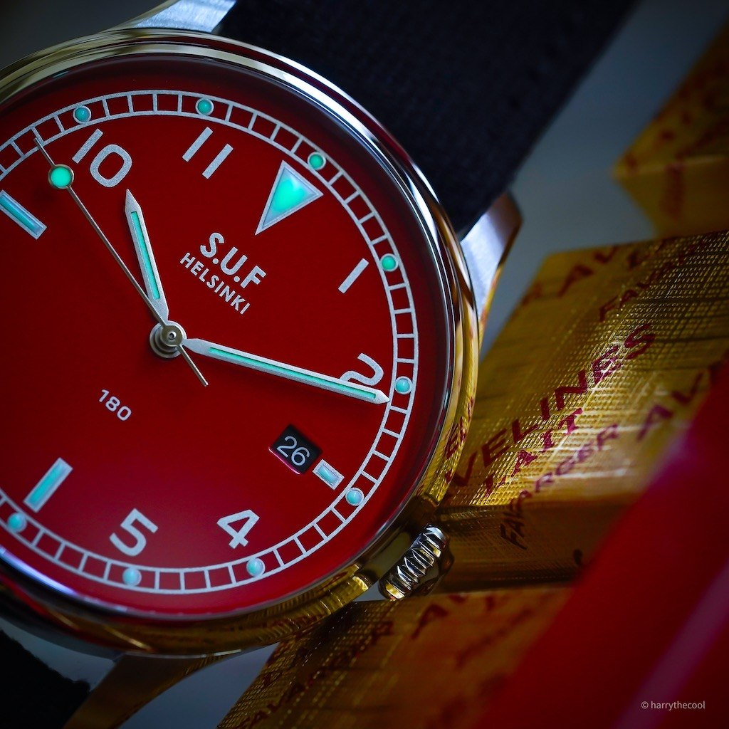 SUF 180 Red Dial