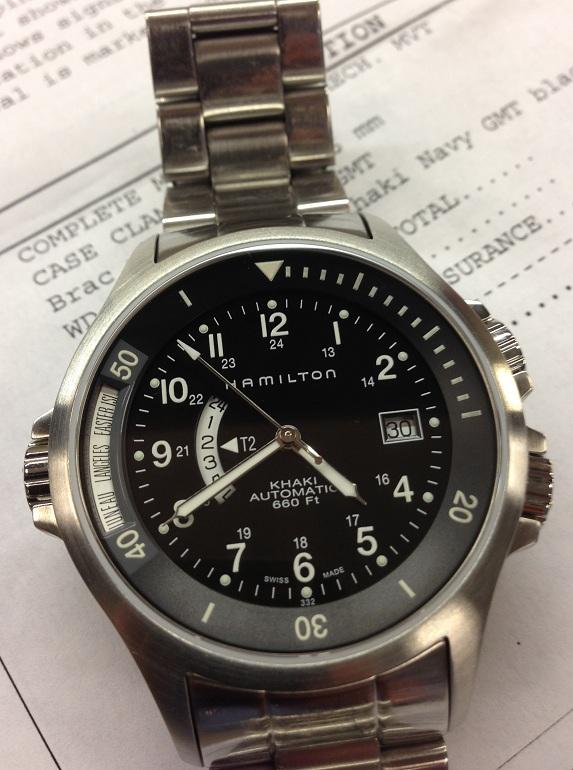 Quelle montre de plongée pour moins de 700 euros? 1104547d1370022549-hamilton-khaki-navy-gmt-bracelet-h77615133-$495-img_1118