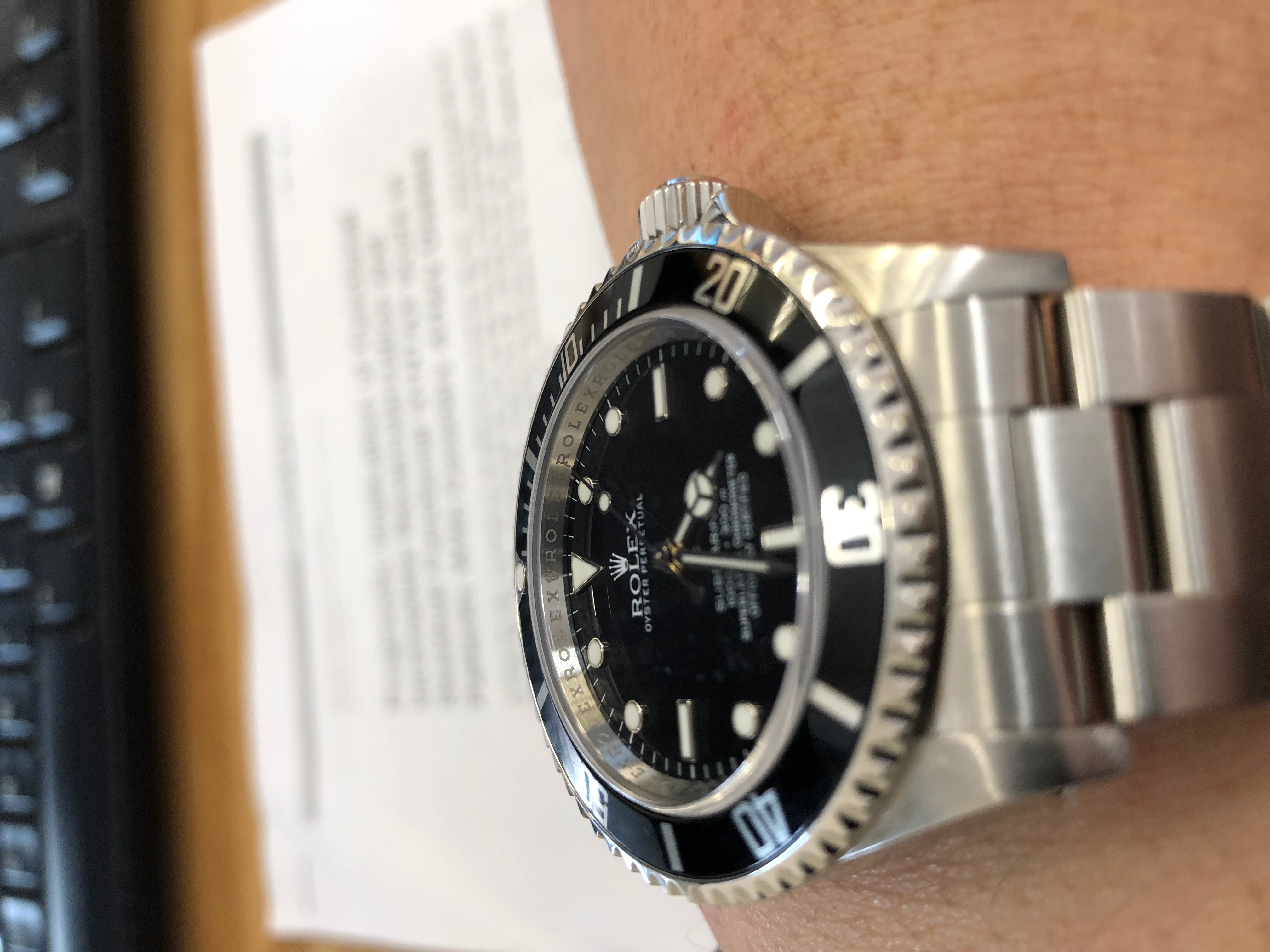 Lugs serial rolex between no number All About