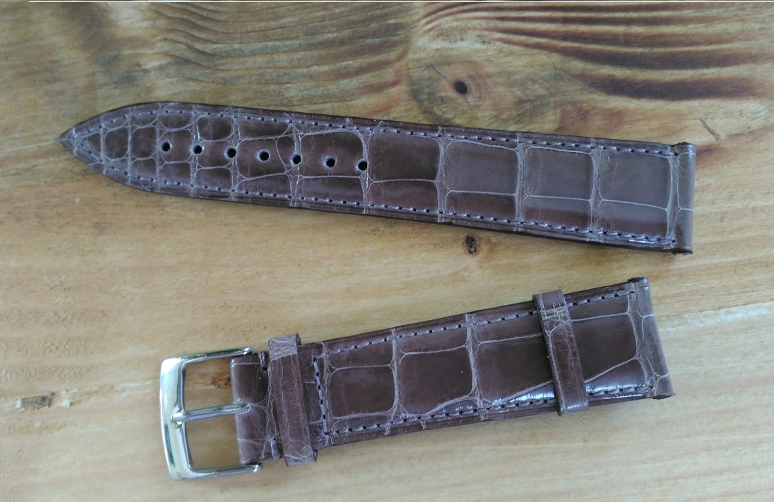Bianca Mosca Alligator Leather straps