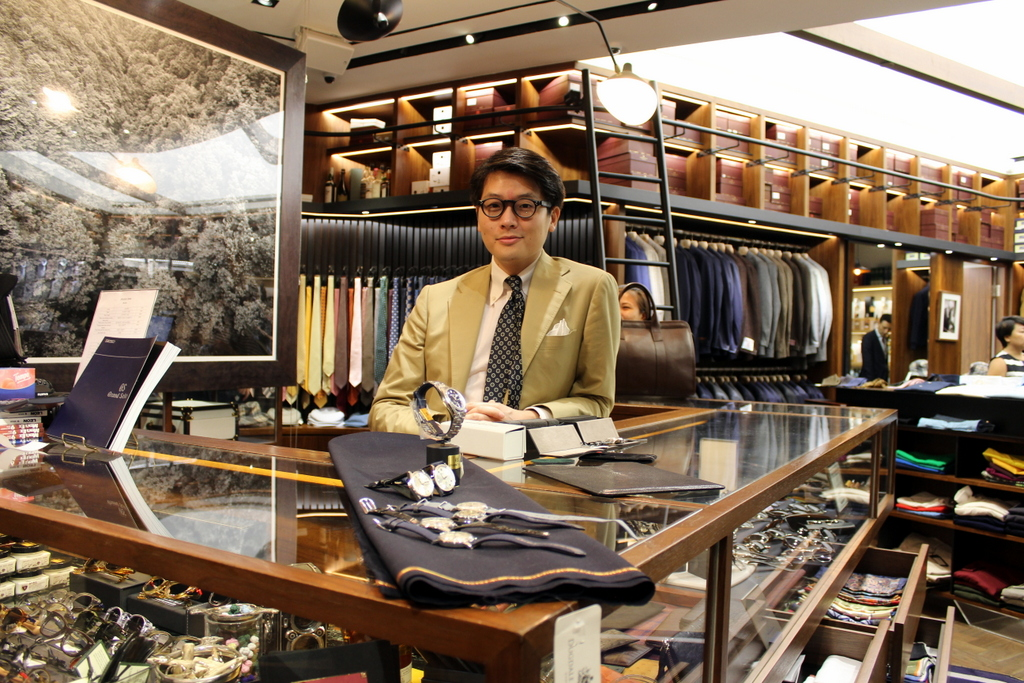 Mark Cho, co-founder of The Armoury