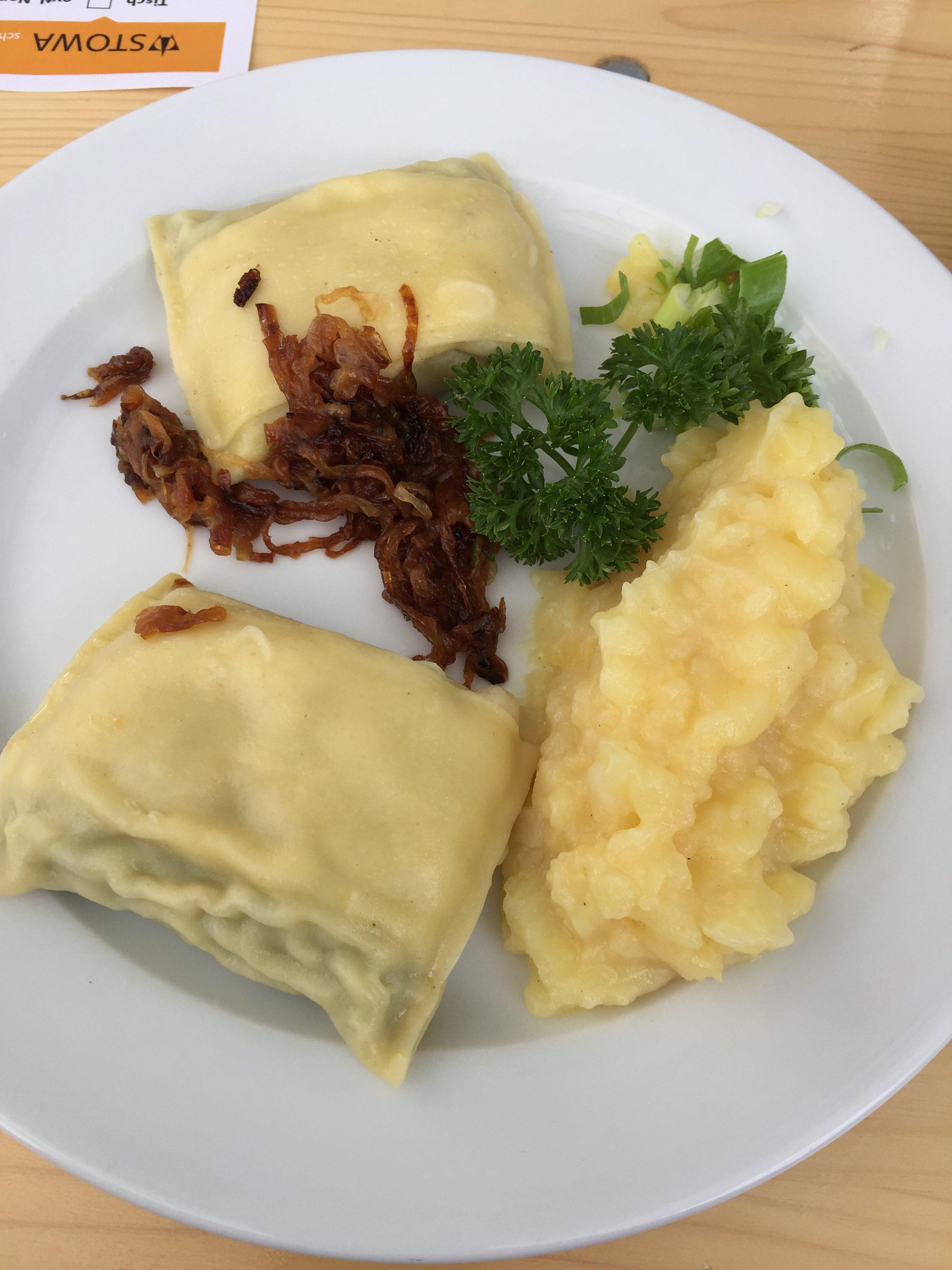 Black Forrest speciality - Ravioli - Maultaschen