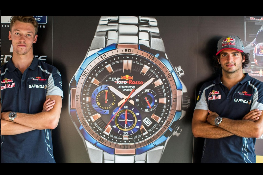 Casio Edifice Scuderia Toro Rosso LE watch - watchuseek.com e26301e41aa7