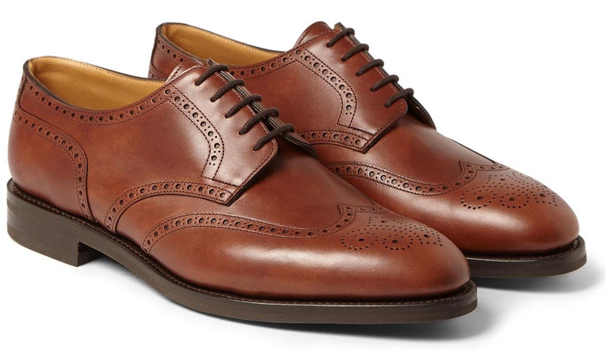 MTWWTS: John Lobb Darby II Leather Oxford Brogues