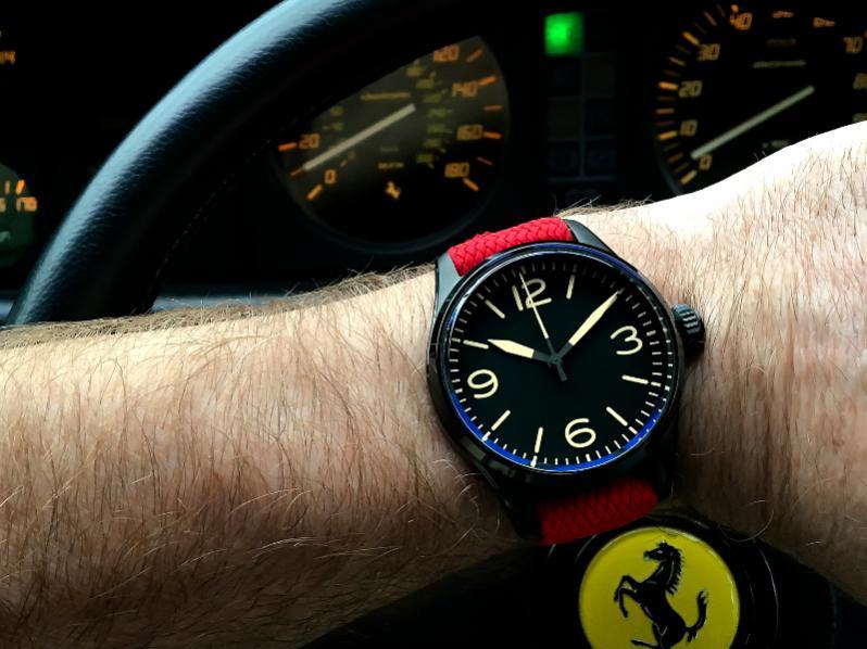 Name:  K1 V28 Red Perlon in Ferrari.jpg Views: 820 Size:  63.2 KB