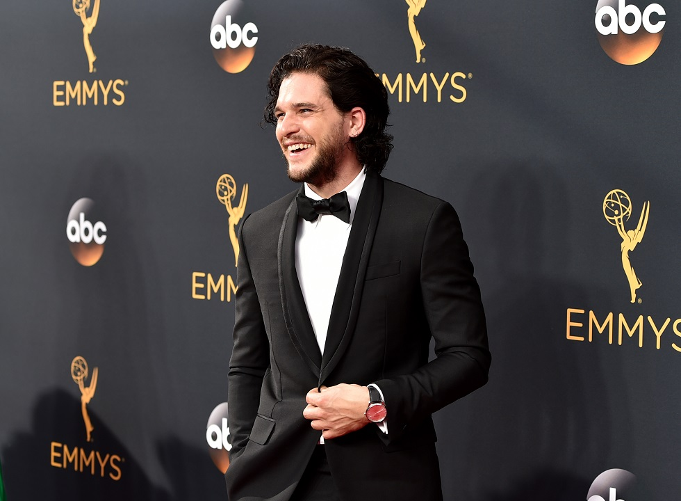 LOS ANGELES, CA - SEPTEMBER 18:  Actor Kit Harington arrives at the 68th Annual Primetime Emmy Awards at Microsoft Theater on September 18, 2016 in Los Angeles, California.  (Photo by John Shearer/WireImage)