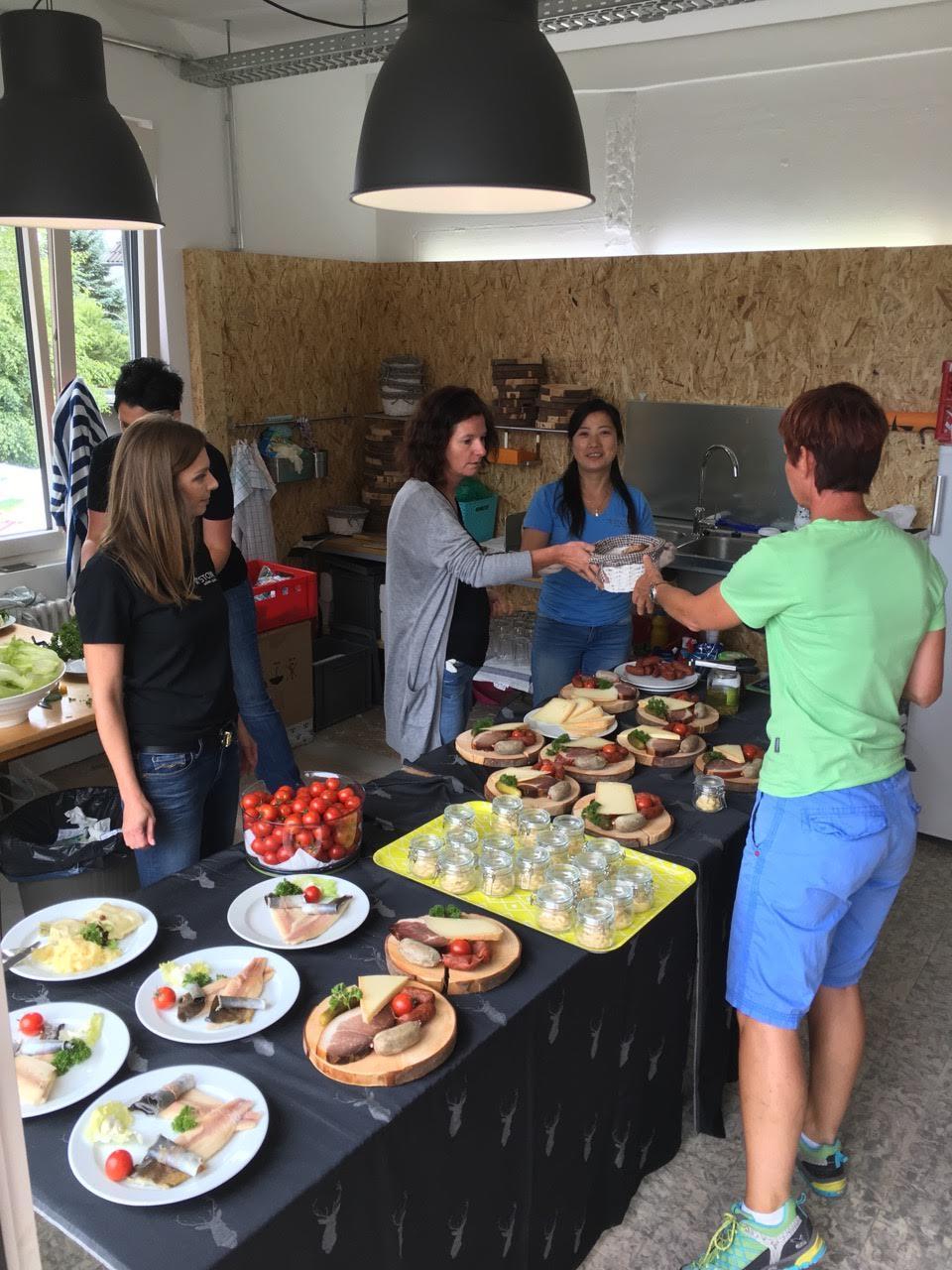 STOWA event team preparing Black Forest delicacies