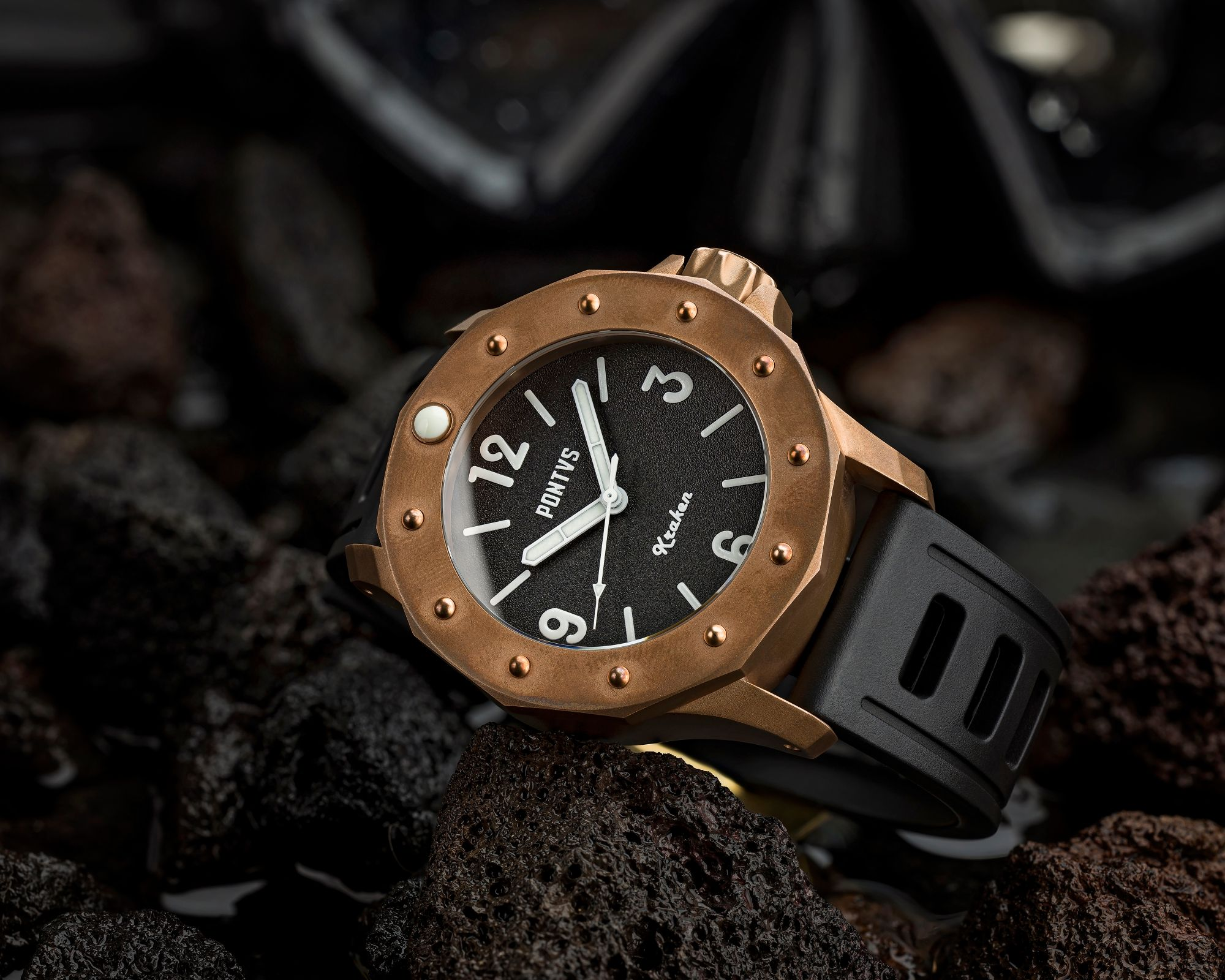 The company's latest dive watch, the Pontvs Kraken, takes its name from one of the mightiest sea monsters from Scandinavian folklore.