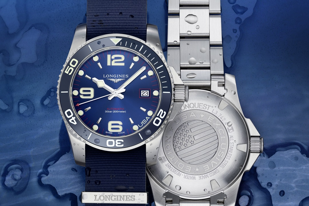 Longines HydroConquest United States Collection
