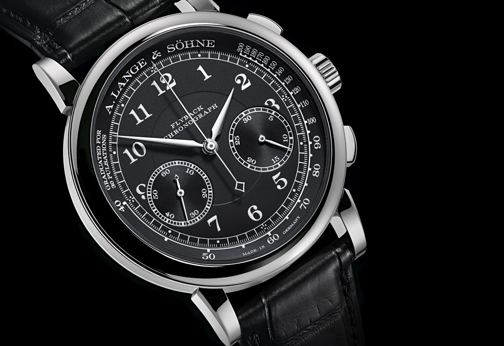 A. Lange & Söhne 1815 Chronograph In Black And White