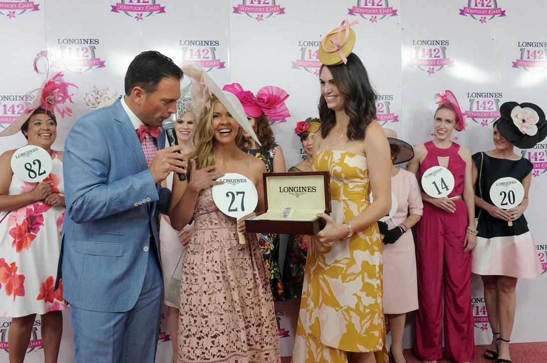 Kentucky Oaks Longines Fashion Contest Winner