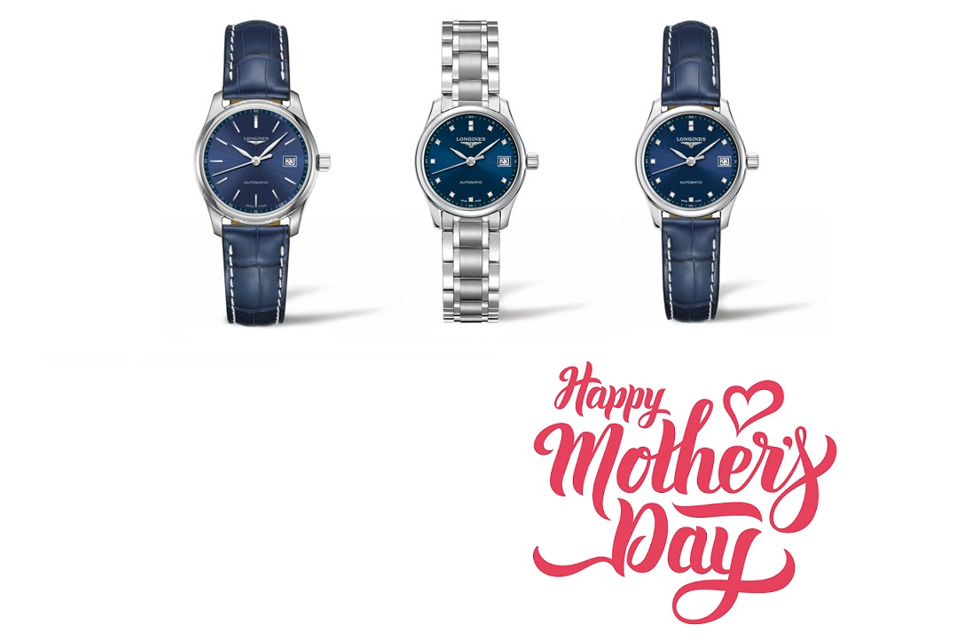 Blue Beauty: New Longines Master Collection Watches for Mother's Day