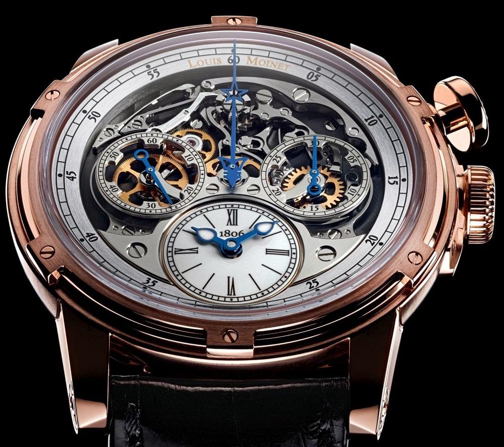 Military Time Clock >> Louis Moinet Memoris nominated for Grand Prix d'Horlogerie