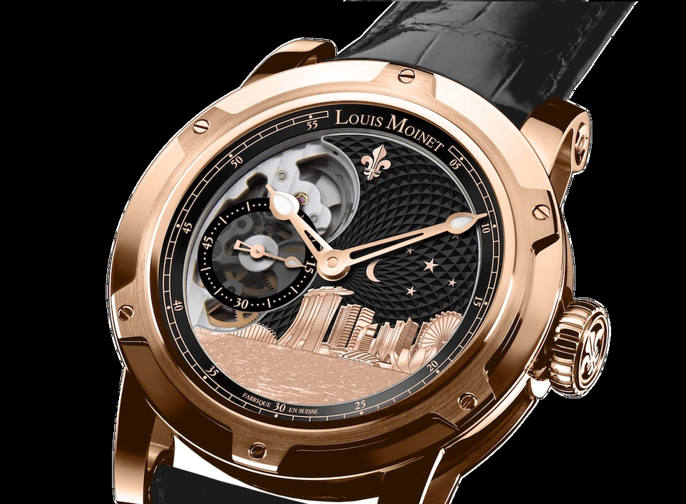 Louis moinet singapore edition watch for Louis moinet watch