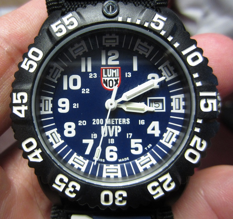 **SOLD** LUMINOX SCOTT CASSELL UVP LIMITED EDITION A.3054.SET US NAVY SEALS