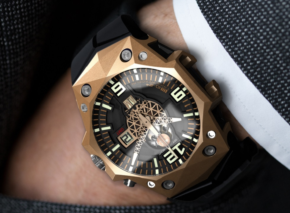 By invitation only: Linde Werdelin LW 10-24 10th Anniversary GMT Watch