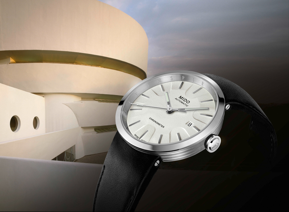 Mido Launches Guggenheim-Inspired Watch at NYC Gala