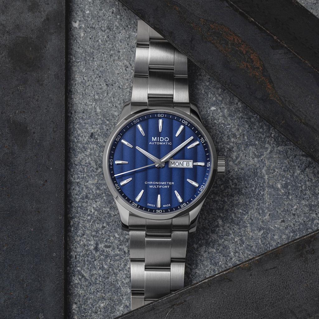 Mido Multifort Chronometer 1 Blue Dial